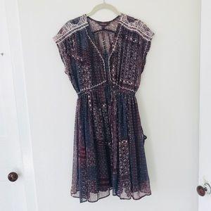 Ranna Gill Lined Boho Flowy Dress
